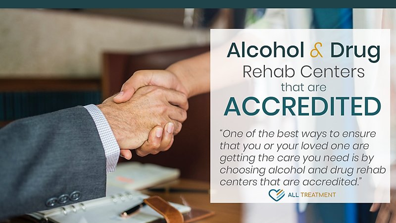 Inpatient and Outpatient Alcohol and Drug Rehab Centers That Are Accredited