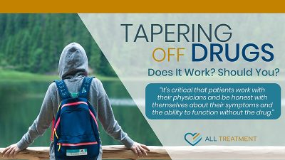 Tapering Off Drugs: Does It Work? Should You?