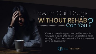 How to quit drugs without rehab? Can you?