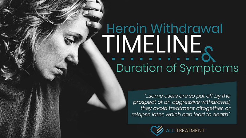 Heroin Withdrawal Timeline and Duration of Symptoms